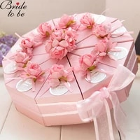 10 pcset bride to be candy box for bridemaid gifts bag baby shower birthday party flower decoration gift paper boxes packing