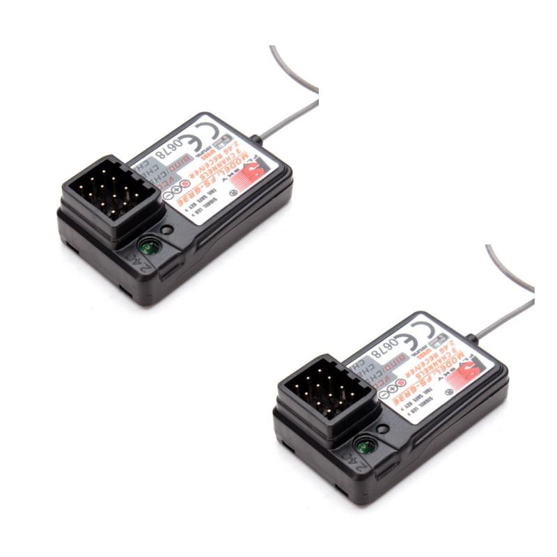 2PCS FLYSKY FS-GR3E GR3E Receiver for GT2 GT2B GT3 GT3B GT3C T6 CT6B GR3E TH9X Transmitter Remote Controller