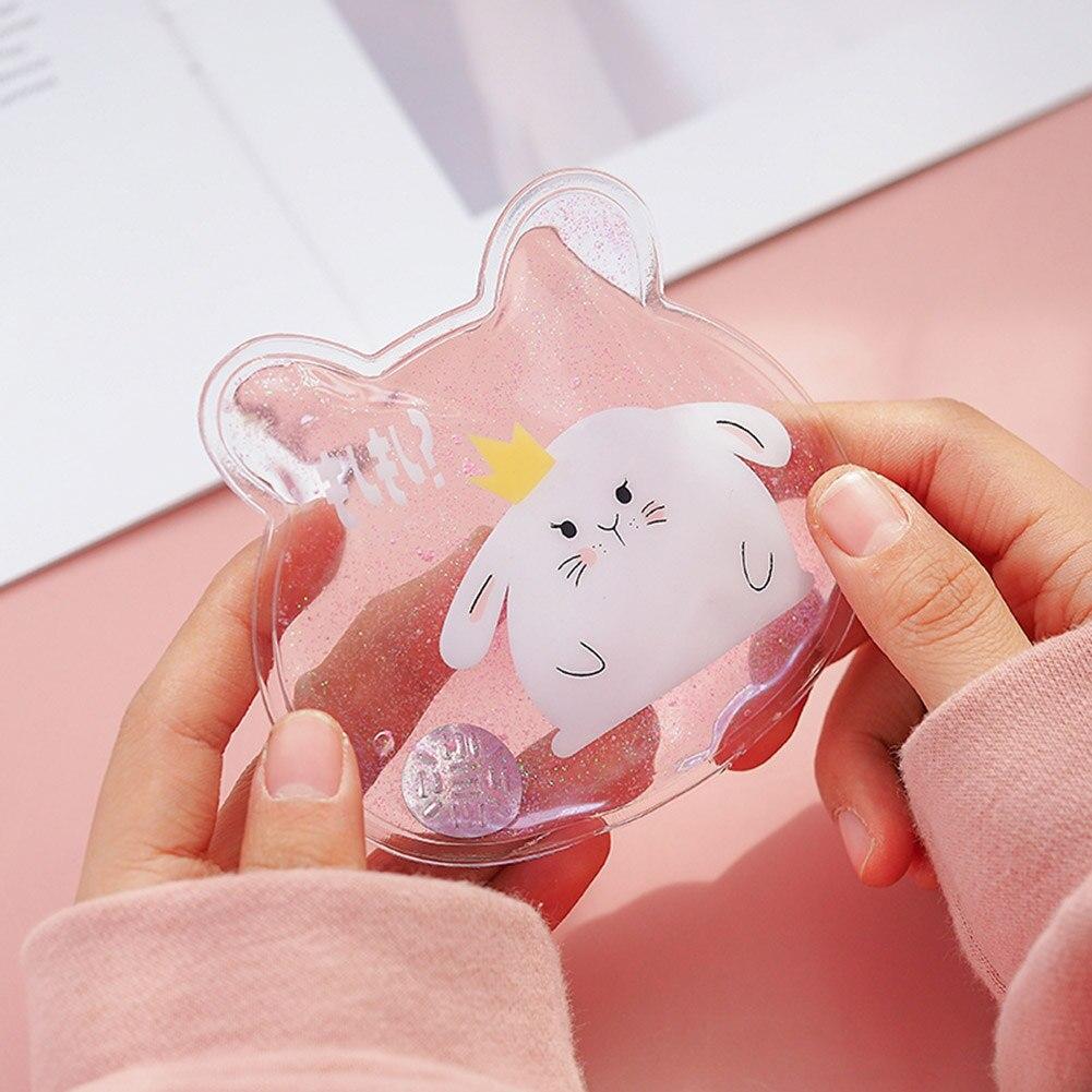 Mini inverno reusável gel mão aquecedor bonito engraçado palavra impressão pacote de aquecimento instantâneo aquecedor aia99