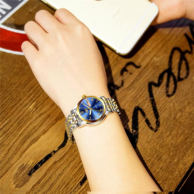 2019 LIGE Woman Watches Rose Gold Top Brand Luxury Watch Women Quartz Waterproof Women's Wristwatch Ladies Girls Watches Clock enlarge