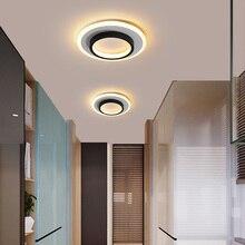 Neue Acryl Platz lampe kronleuchter Für flur Balkon korridor Hause AC85-265V Moderne Led Kronleuchter Lampe Leuchten