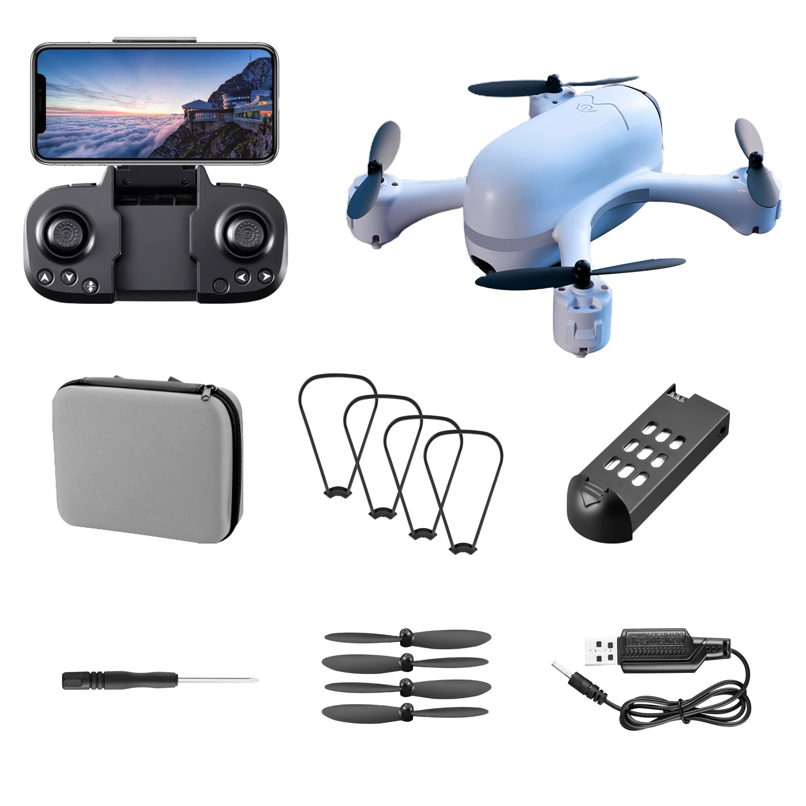 NEW S88 Drones 4K HD Dual Camera With Optical Flow Positioning RC Helicopter Profesional Quadcopter Boys Toys Christmas Gifts enlarge