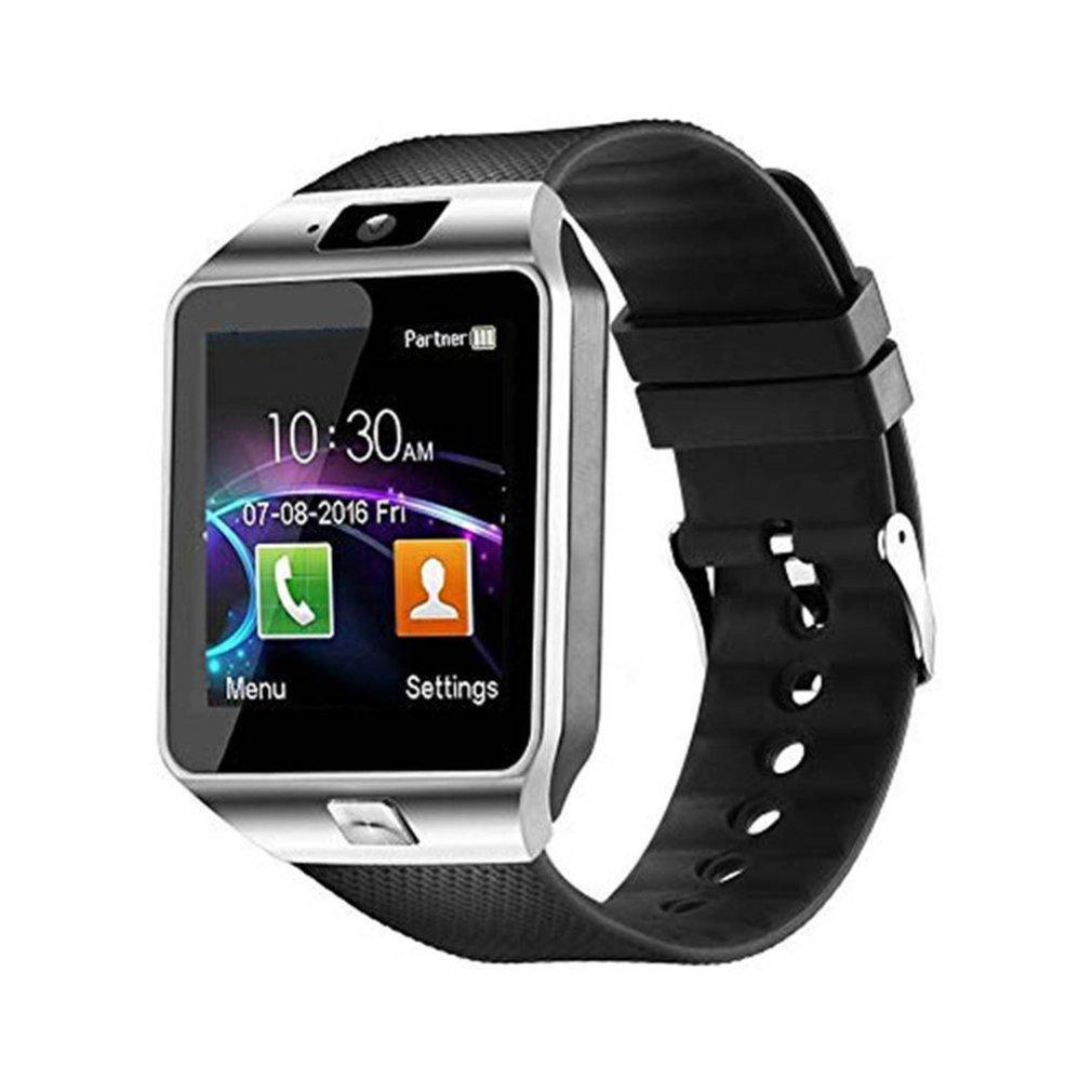 dz09 tela de toque inteligente bluetooth esporte musica chamando camera smartwatch
