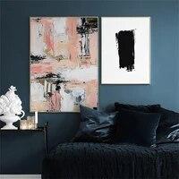 Affiches et imprimes de decoration en Vogue nordique  toile Simple et abstraite  peinture murale  images artistiques pour salon  decoration de la maison