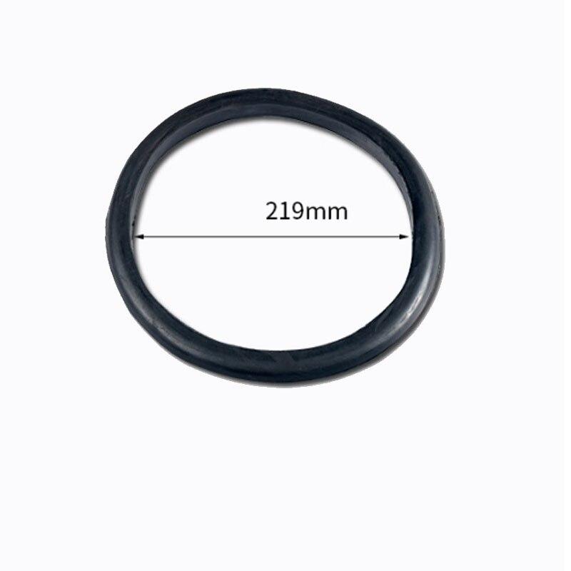2Pcs/Lot Oxygen Acetylene Bottle Shockproof Ring Propane Gas Cylinder Apron Shock Protection 40 Liter Rubber Ring enlarge