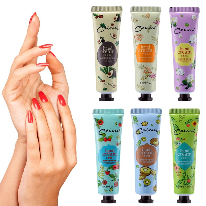 Plant Extract Fragrance Hand Cream Korea Antiseptic Hand Hydra Moisturizing Nourishing Anti-chapping