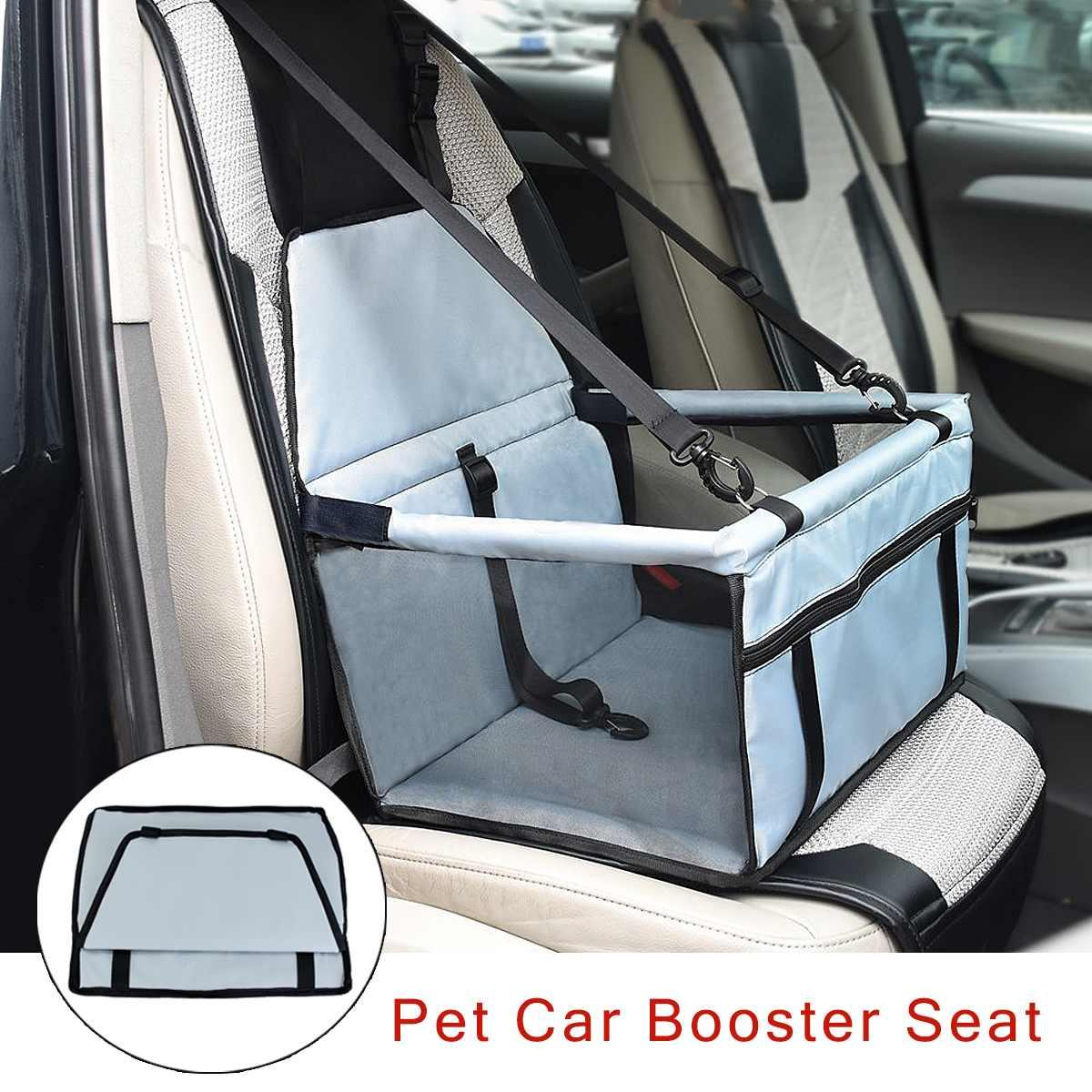 600D Waterproof Portable Booster Car Seat Cover Basket Mat Auto Protector Puppy Travel Box Bag Dog Cat Pet Safe Folding