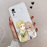 kyoukai no kanata anime phone case transparent for vivo x 50 60 30 21 27 20 7 9 i s pro plus