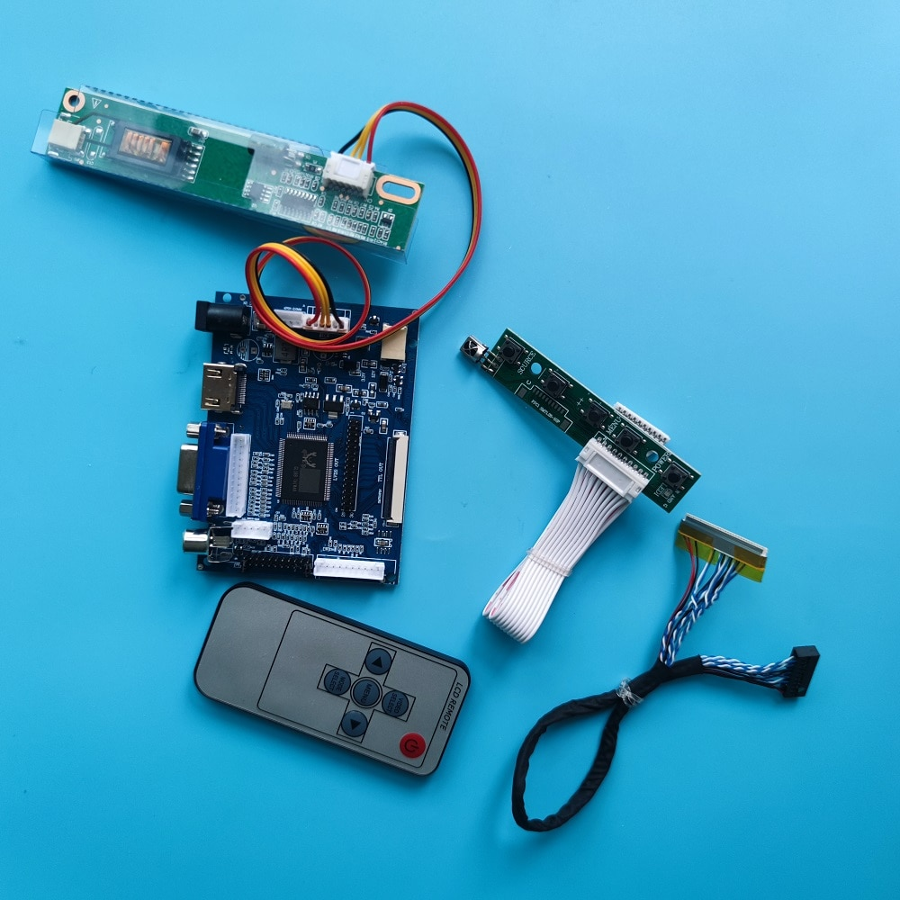 LP171WP4/LP171WX2 HDMI-متوافق VGA 2AV LCD طقم لوحة تحكم عن بعد تعمل ل 17.1