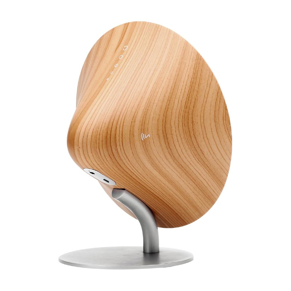 Wireless bluetooth speaker retro wooden desktop speaker support NFC touch surface subwoofer home audio stereo speaker boom box enlarge