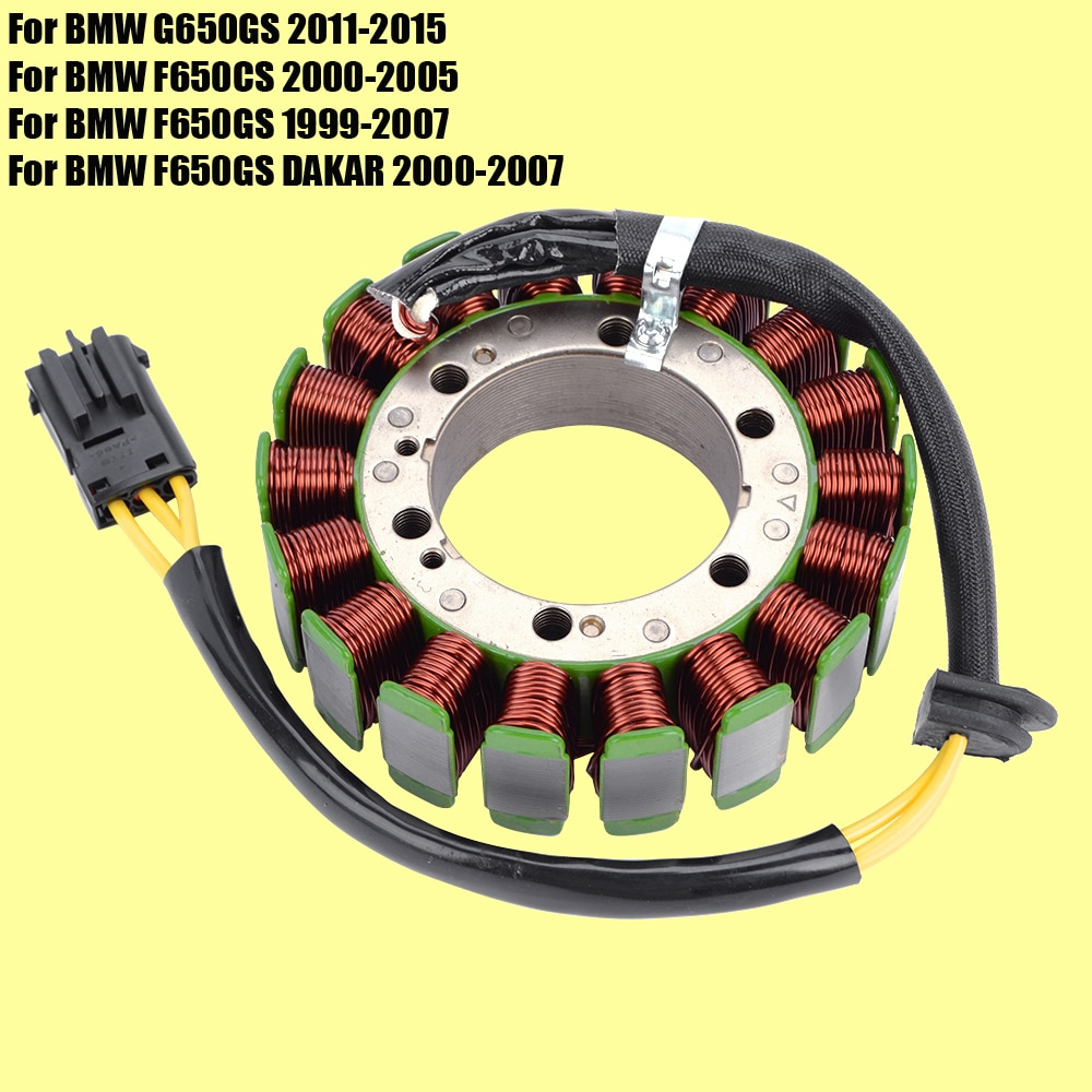 Stator Coil for BMW G650GS F650CS F650GS DAKAR Motorcycle Generator Magneto Coil G650 F650 GS F 650 GS high speed motorcycle rotor magneto kits stator coil for yinxiang lying 150cc and 160cc engine motor accessories
