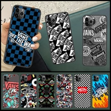 fashion vanss brand Phone Case Cover Hull For iphone 5 5s se 2 6 6s 7 8 12 mini plus X XS XR 11 PRO
