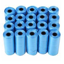 20 40 рулонов/упаковка 600 шт собачий мешок для мусора мешки для мусора для кошек домашних животных мешок для сбора отходов уличные чистящие мешки принадлежности