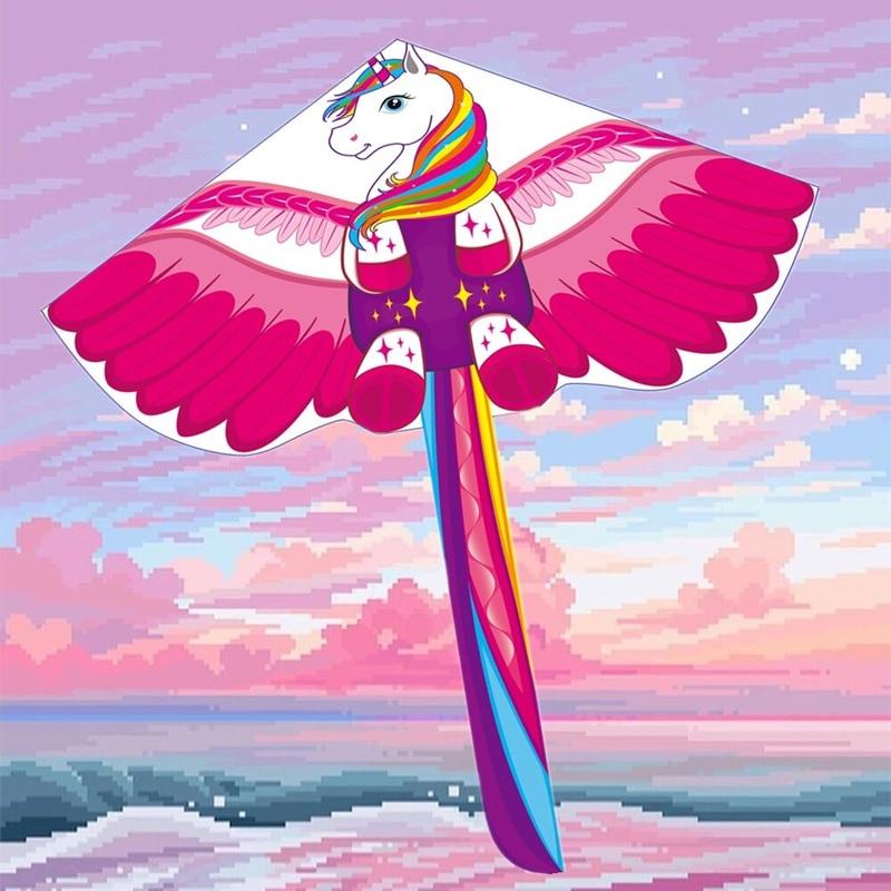 Фото - Бесплатная доставка, 3d воздушный змей с драконом для искусственных нейлоновых игрушек, летающие воздушные змей, детский воздушный змей weifang... огненный змей