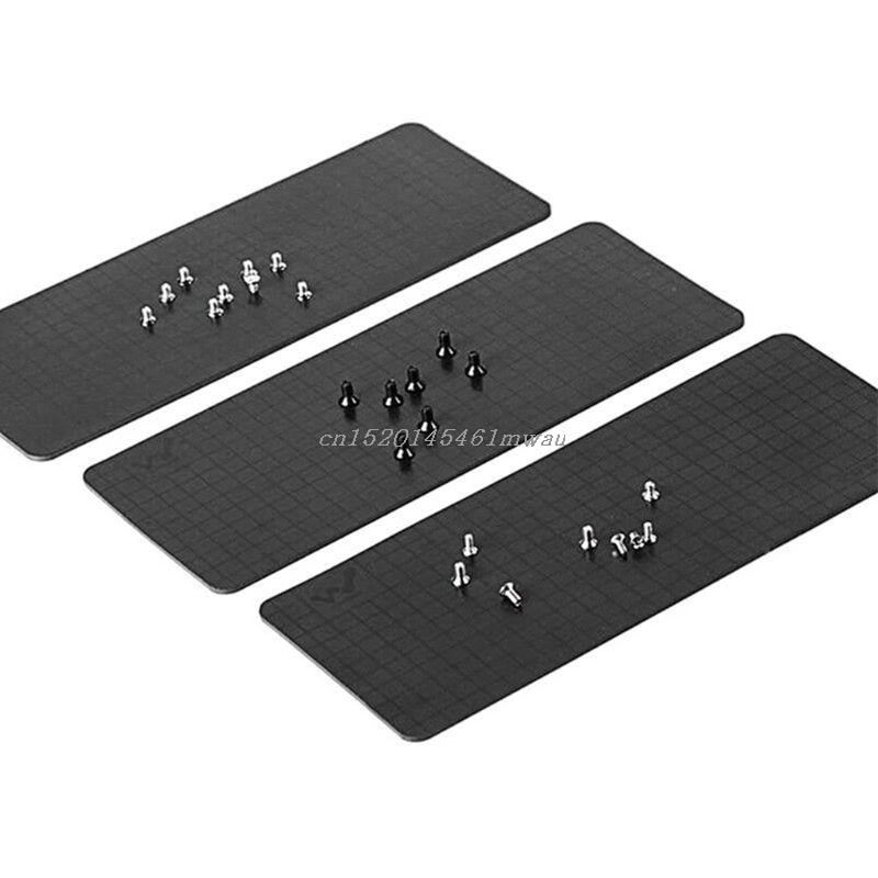 165*65mm Magnetic Screw Pad Mobile Phone Repair Work Mat Adsorption of Screw New 2019
