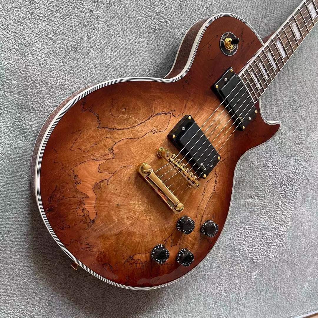 Custom shop,standard custom electric guitar,Flame top guitarra,Rosewood fingerboard Custom gitaar.mahogany body enlarge
