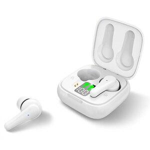 Наушники-вкладыши Bluetooth 5,2, беспроводные наушники с микрофоном и зарядным футляром, наушники с отличными басами для всех смартфонов, воспрои...