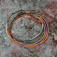bohemian bracelets miyuki thin beaded stone crystal bracelets bangles for women handmade vintage ethnic knot thread bracelets