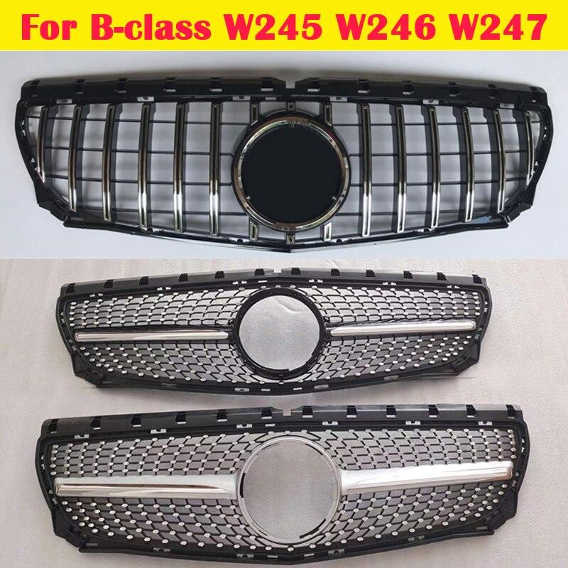 شبك مصد ABS متوسط التصميم لسيارة Mercedes-Benz B-class W245 W246 W247 B200 B260 ، 2009-2020