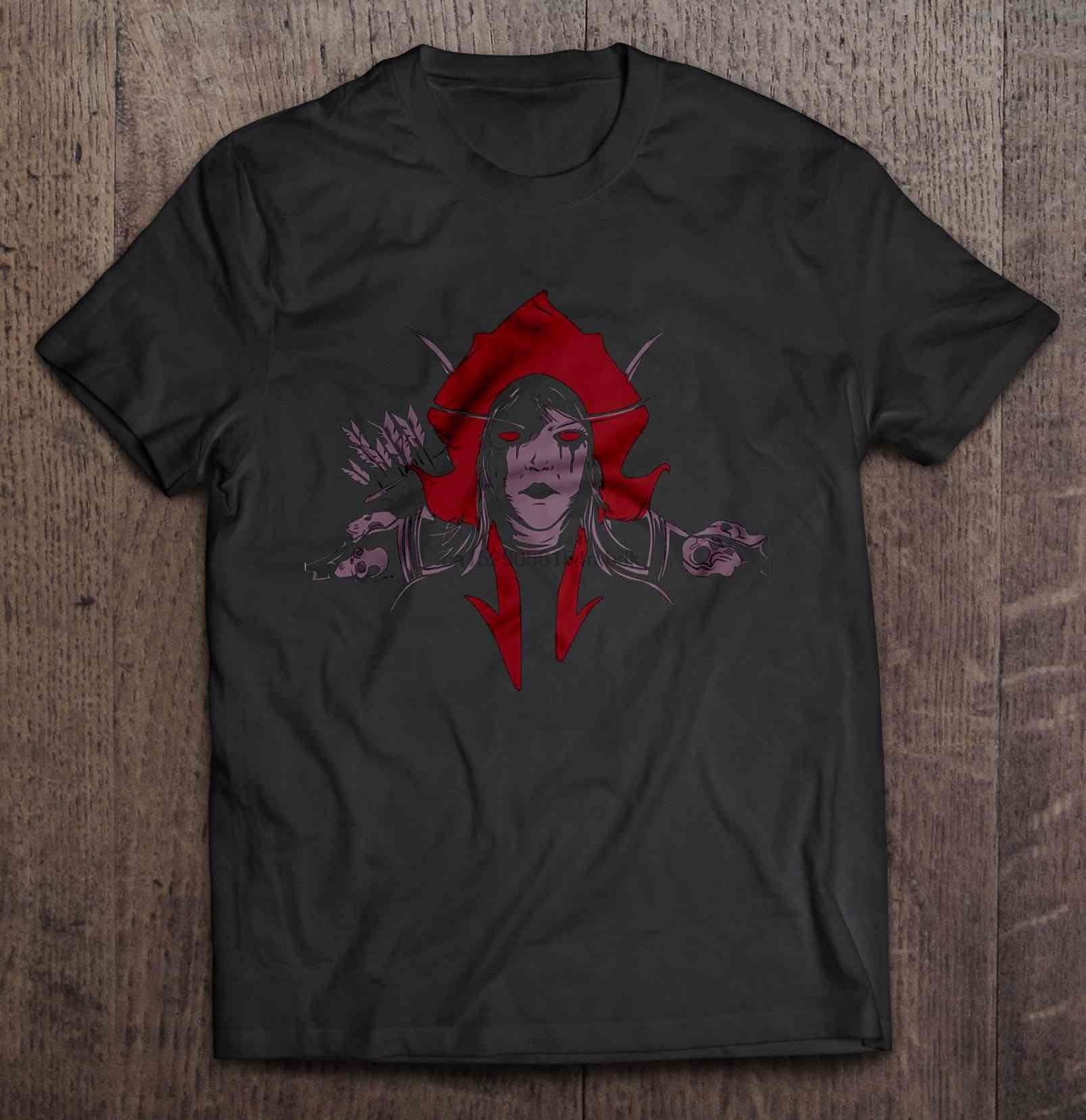 Men T Shirt  Sylvanas Horde - Sylvanas Windrunner  Women t-shirt