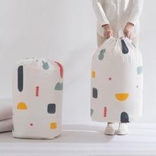 Bolsa de almacenamiento de viga de colcha impermeable para el hogar, bolsa organizadora a prueba de humedad y moho para ropa, herramientas de embalaje para mudanzas