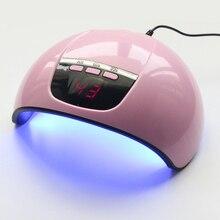 Professionelle Nagel Lampe 45W LED UV Licht IR Sensor Timer Kleber Trockner Maniküre Kunst Werkzeuge
