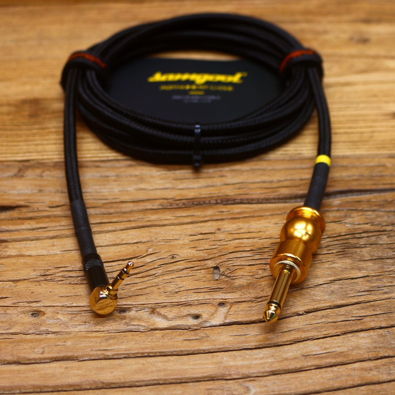 Samgool guitar cable 6.5 to 3.5XLR sound card recording instrument frequency line electric guitar audio cable enlarge