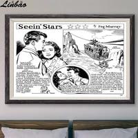 Peur des hauteurs  V119 1953  Affiche en soie personnalisee  Vintage  film classique  decoration murale  cadeau de noel