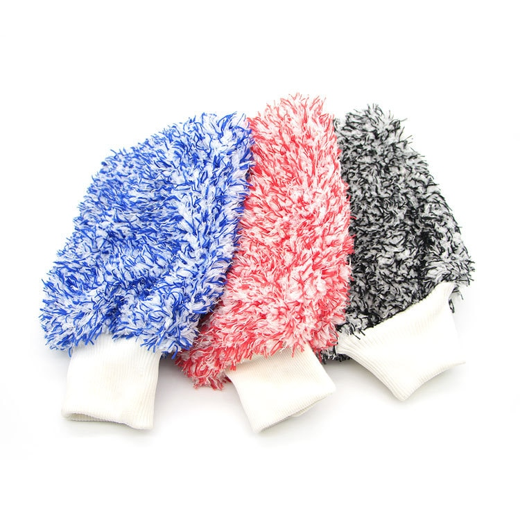 Soft Absorbancy Washing Glove High Density Car Cleaning Ultra Soft Easy To Dry Auto Detailing Microfiber Madness Wash Mitt Cloth