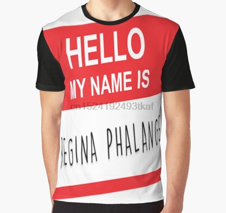 Camiseta estampada en 3D para hombre, divertida camiseta HELLO MY NAME IS & gt