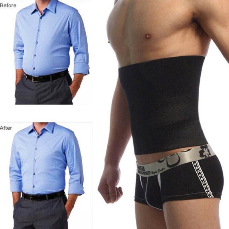 Men's Slimming Belt Shapers Waist Trainer Cincher Body Fajas Corset Gym Sport Men Shaper Slim Belt 3FS