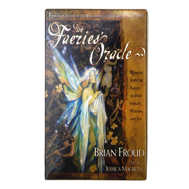 The Faeries' Oracle Cards Full English 66 Cards Deck Tarot Family Party Fun Board Game Divination Fate Astrology недорого