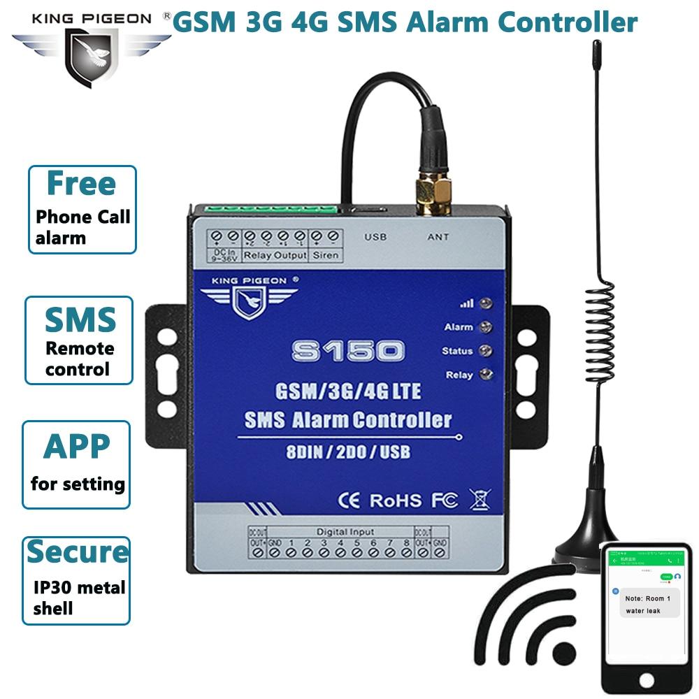 GSM 3G 4G الخلوية RTU SMS التتابع التبديل الصناعية IoT نظام الرصد عن بعد في بنيت وحدة إنذار المراقبةsms S150