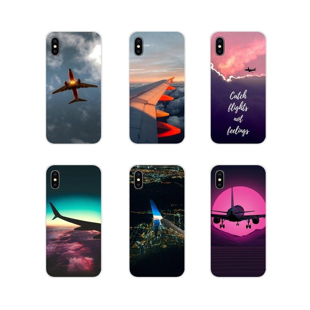 Accesorios de viaje de avión fundas de teléfono cubiertas para Xiaomi Mi4 Mi5 Mi5S Mi6 Mi A1 A2 A3 5X 6X 8 CC 9 T Lite SE Pro