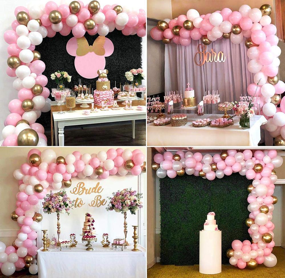 112 шт., декоративные воздушные шары для девочек