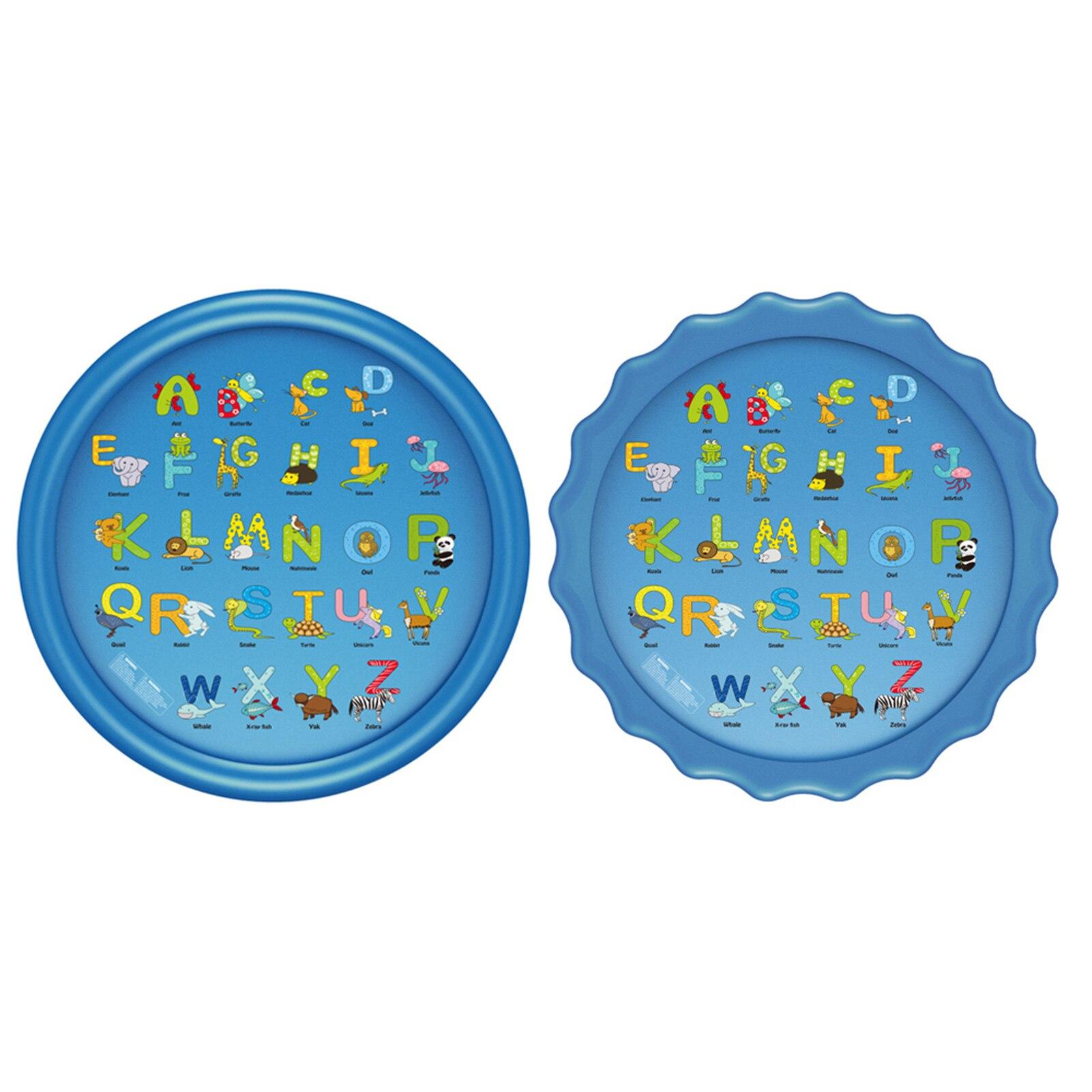 2 أنواع الاطفال نفخ رذاذ الماء وسادة مستديرة المياه سبلاش اللعب بركة اللعب الرش حصيرة ساحة في الهواء الطلق متعة أحواض سباحة