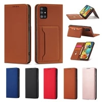 luxury leather wallet phone case for samsung galaxy a82 a22 a72 a52 a42 a32 a12 a71 a51 card slot folded stand shockproof cover