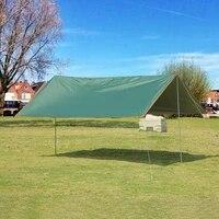 5x3m tourist awning waterproof tarp beach tent outdoor camping tent travel gazebo tent camping equipment travel furniture