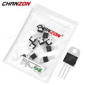 10Pcs L7808CV TO-220 Three-Terminal Voltage Regulator Transistor Bipolar Junction BJT Tube Fets Integrated Circuits