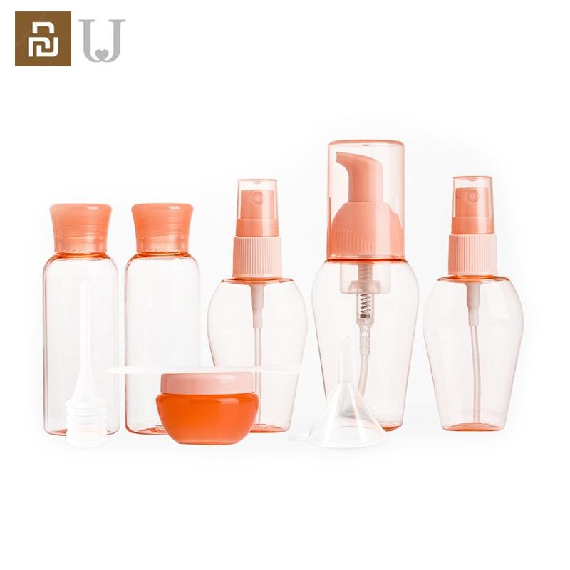 Jordan Judy 9pcs a Box Travel Sub-bottle type fine mist small spray bottle spray bottle cosmetic hydrating small bottle set