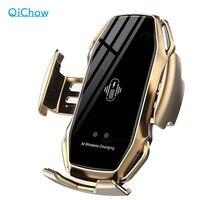Беспроводное автомобильное зарядное устройство-держатель QiChow для смартфонов