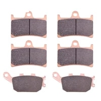 long life front rear brake pads for yamaha yzf1000 yzf r1 yzf 1000 r1 mt 09 900 sp mt09 sport tracker street rally tracer gt