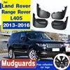 Voor & Achter Slikranden Flaps Fit Voor Land Rover Range Rover L405 2013 2014 2015 2016 Splash Guards Gegoten auto Accessoires Fender