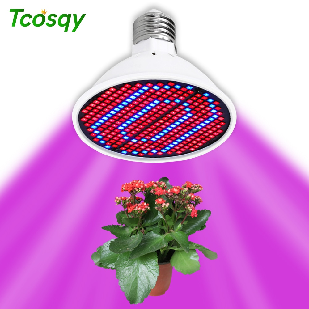 Tcosqy plant growth lamp cup red and blue full spectrum indoor planting E27 multi-specification lamp beads 2835 photosynthesis reza razeghifard natural and artificial photosynthesis
