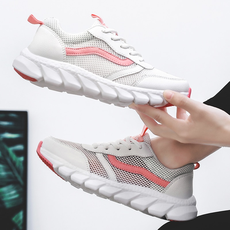 Tennis Shoes For Women Tenis Blancos Cheap Breathable Sneakers Woman Comfortable Platform Sneakers Women Zapatos De Mujer