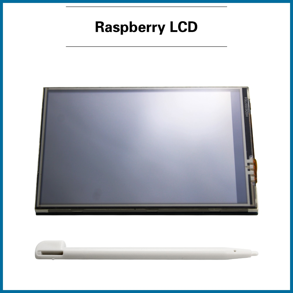 S ROBOT 3.5 inch Raspberry Pi 4 Model B Touch Screen 480*320 LCD Display + Touch Pen + ABS Case for Raspberry Pi 4  RPI60 enlarge