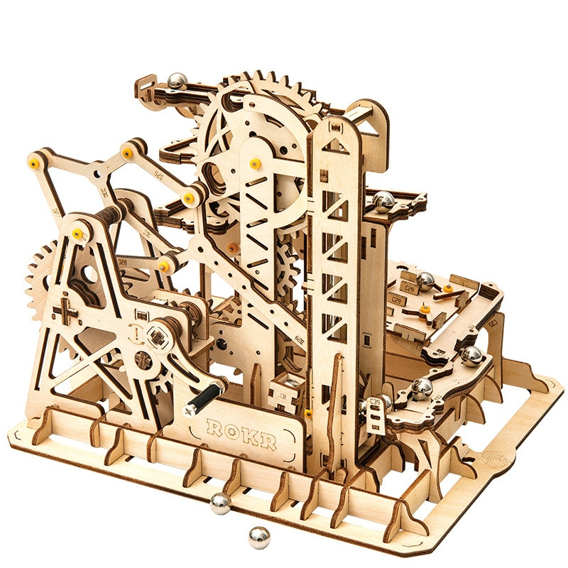 3D Holz Puzzle Getriebe Stick Mechanische Holzhandwerk Baukasten Modell Gebäude Kit Teenager Brinquedo Spielzeug Für Kinder E5PT
