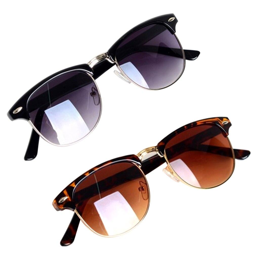 Gafas de sol de moda con círculo redondo, Vintage para hombres y...