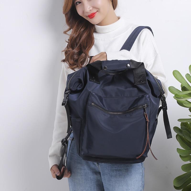 Fashion Backpack Waterproof Women Backpack Laptop Shoulder Bags Bagpack College Big Backbag Teen Girl School bag Mochilas Female