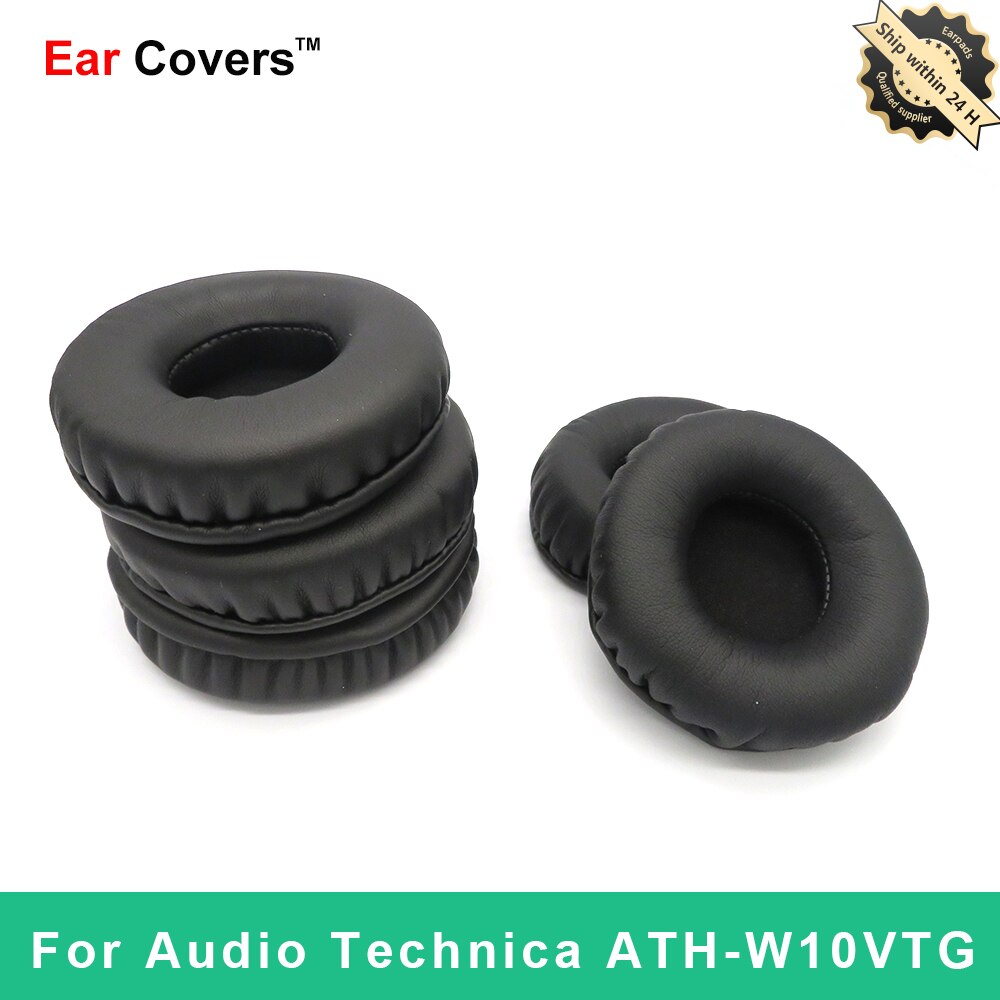 Ear Pads For Audio Technica ATH W10VTG ATH-W10VTG Headphone Earpads Replacement Headset Ear Pad PU L